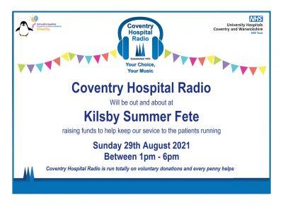 Kilsby summer fete poster